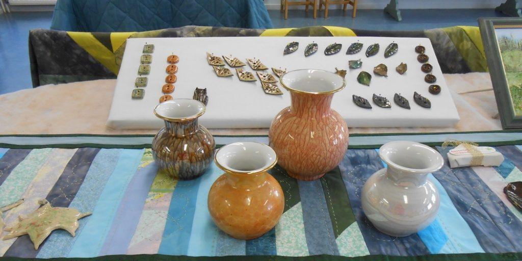 Kädentaito- ja taideaineiden kevätnäyttely