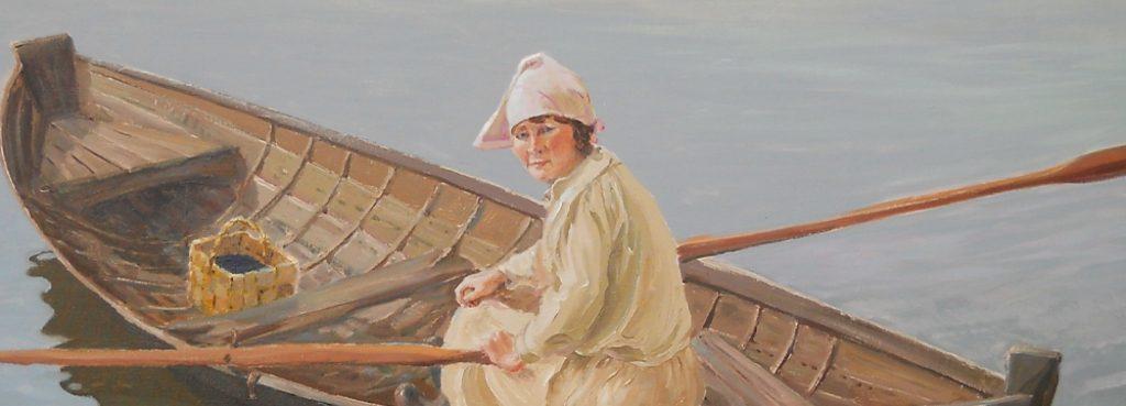 Taidemaalari Olavi Uusitalon taidenäyttely Kulta-aika tänään