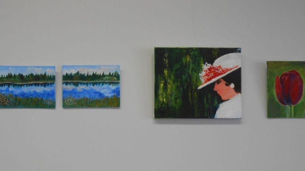 Kädentaito- ja taideaineiden kevätnäyttely Sulkavalla